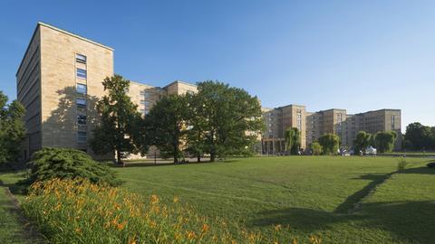 Das Campus Westend in Frankfurt
