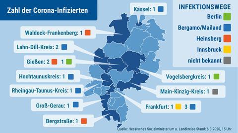 Coronavirus Deutschland Mappe
