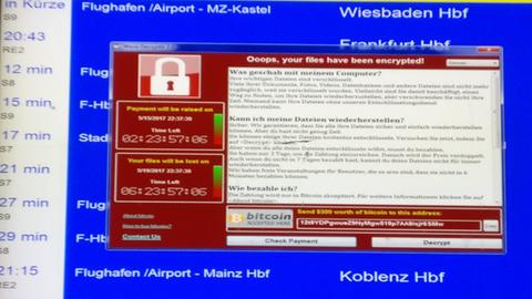 Cyber-Attacke Frankfurt