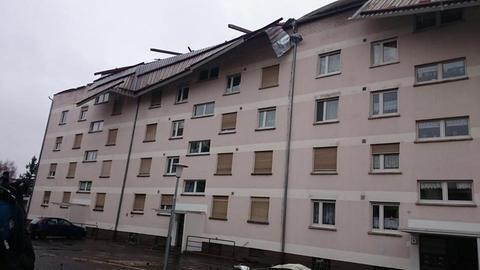 Dach abgedeckt Erlensee