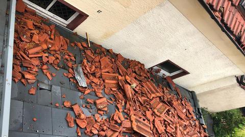 Abgedecktes Dach in Bauschheim