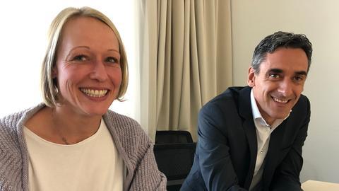 Denise Leddin und Gabor Salay