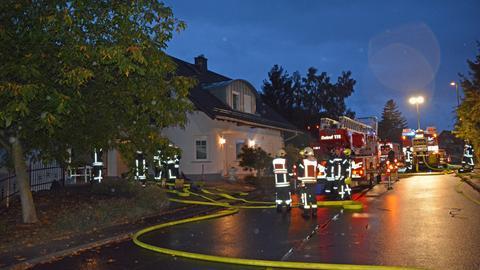 Feuerwehreinsatz in Dillenburg