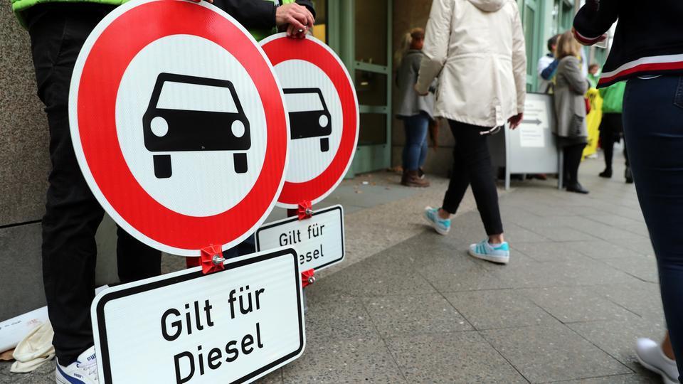 Darmstadt: Umwelthilfe und Land einigen sich auf Diesel-Fahrverbote