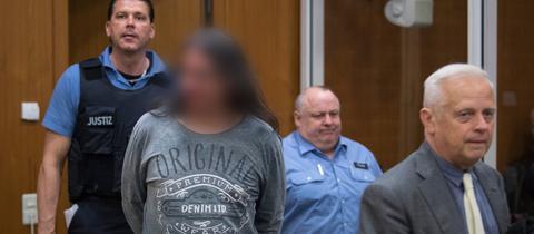 Der Angeklagte Athanasios A. im Landgericht