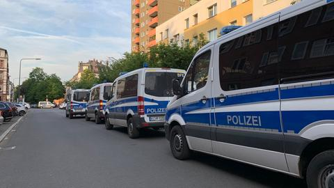 Polizeieinsatz in Frankfurt