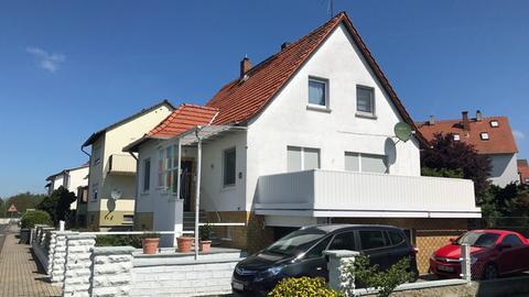 Das Haus des Ehepaares in Echzell