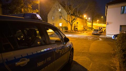 Polizeiwagen in Hattersheim