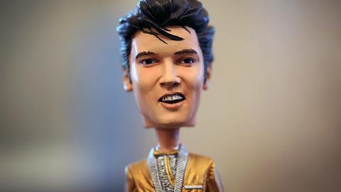 Elvis-Wackelkopf-Puppe