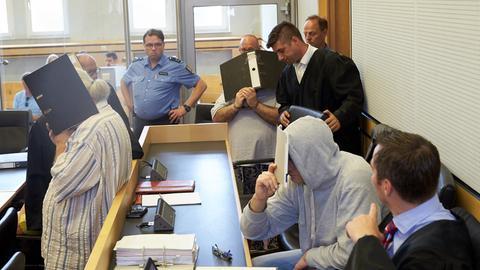 Angeklagte vor dem Landgericht Limburg