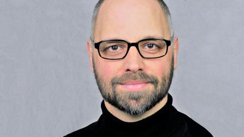 Portrait des Schauspielers Marc Ermisch