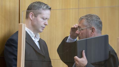 Stephan Ernst sein Anwalt Frank Hannig