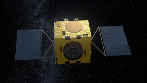 So sieht die Hera-Sonder der ESA aus.