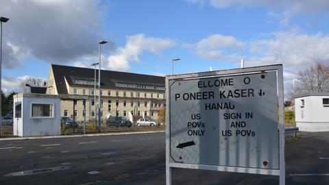 Ehemalige US-Kaserne Pioneer in Hanau