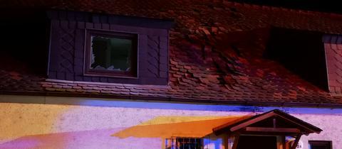 Explosion in Wohnhaus in Cölbe
