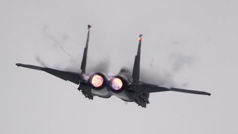 F15-Jet im Flug