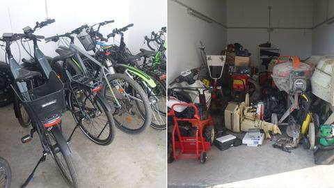 Fahrräder und Gerätschaften