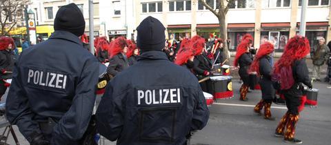 Fastnacht Polizei