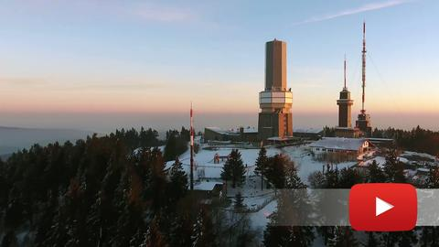 Feldberg bei Sonnenaufgang