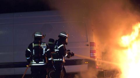 Feuerwehreinsatz Mörfelden-Walldorf