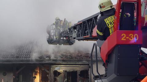 Feuer in Fritzlar