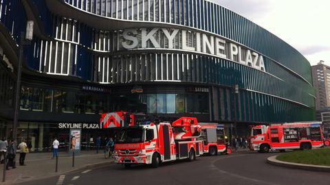 Feuer Skyline Plaza