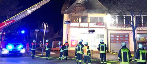 Feuerwehrgerätehaus in Birkenau