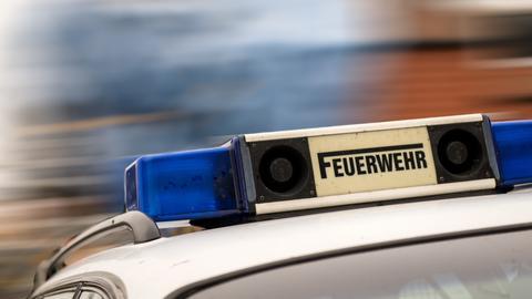 Blaulicht auf einem Feuerwehrfahrzeug