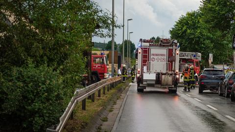 Feuerwehr-Einsatz in Hünfelden-Kirberg