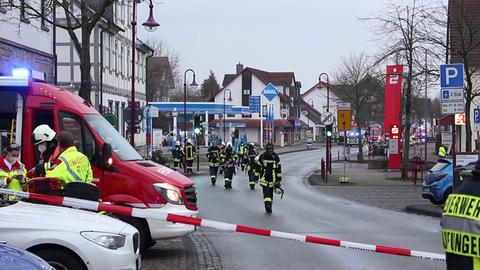 Feuerwehreinsatz in Niederkaufungen