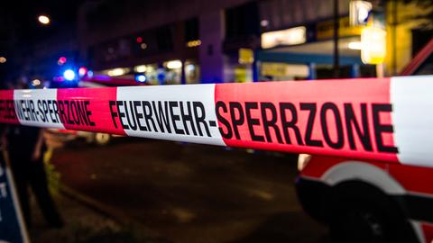 """Absperrband mit Titel """"Feuerwehr-Absperrung"""""""