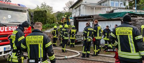 Feuerwehreinsatz im Schlangenbader Ortsteil Wambach