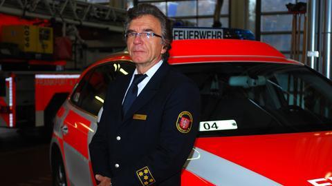 Frankfurts Feuerwehrchef Reinhard Ries