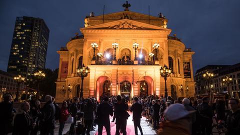 Verleihung des Hessischen Film- und Kinopreises in der Alten Oper Frankfurt