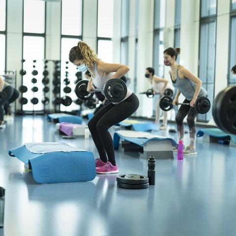 Fitnessstudio Corona Sujet