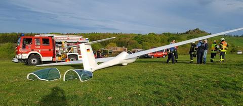 Segelflugzeug, Rettungskräfte