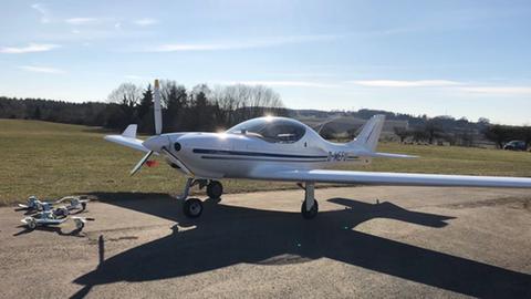 Dieses Flugzeug wurde in Pohlheim gestohlen.
