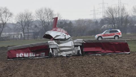 Flugzeugabsturz Bensheim