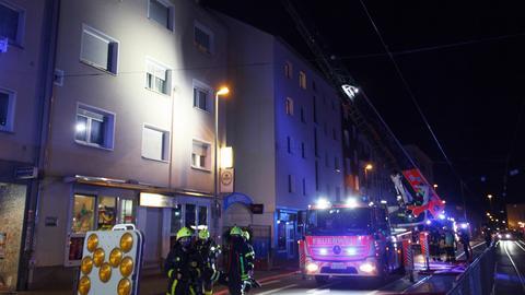 Feuerwehreinsatz in Frankfurt-Bockenheim