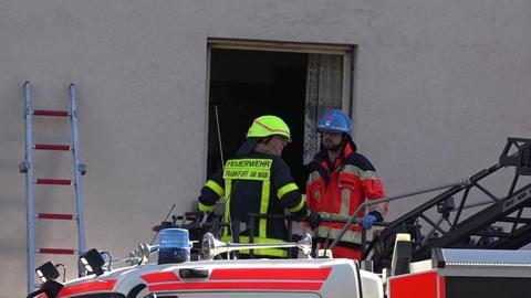 Feuerwehreinsatz in Frankfurt-Höchst