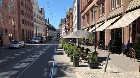 Verkehrsberuhigte Braubachstraße
