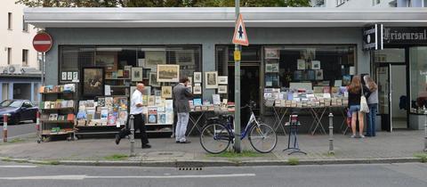 Der zweite Vorfall ereignete sich auf der Töngesgasse in Frankfurt (Archivbild)