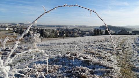 Die schönsten Frost- und Winterbilder der hr1-Hörer