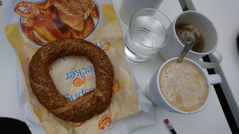 Kaffee und Kringel