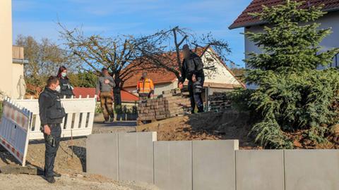 Fundort der Granate: ein Gartengrundstück in Fulda