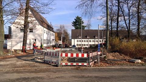 Gastank Flüchtlingsunterkunft Fuldatal