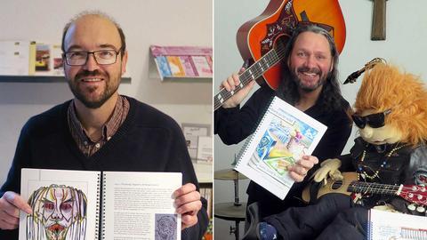 Die beiden Gefängnisseelsorger Andreas Leipold und Meins Coetsier