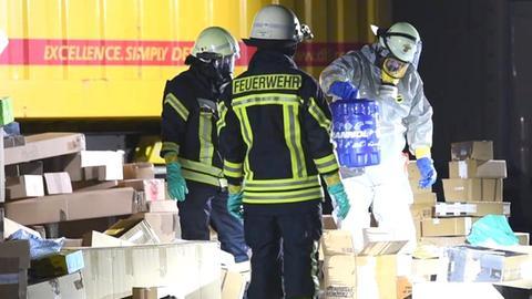 Feuerwehreinsatz in Lorsch