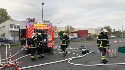 Feuerwehreinsatz in Dietzenbach