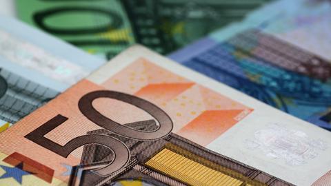 Geld Euroscheine Sujet